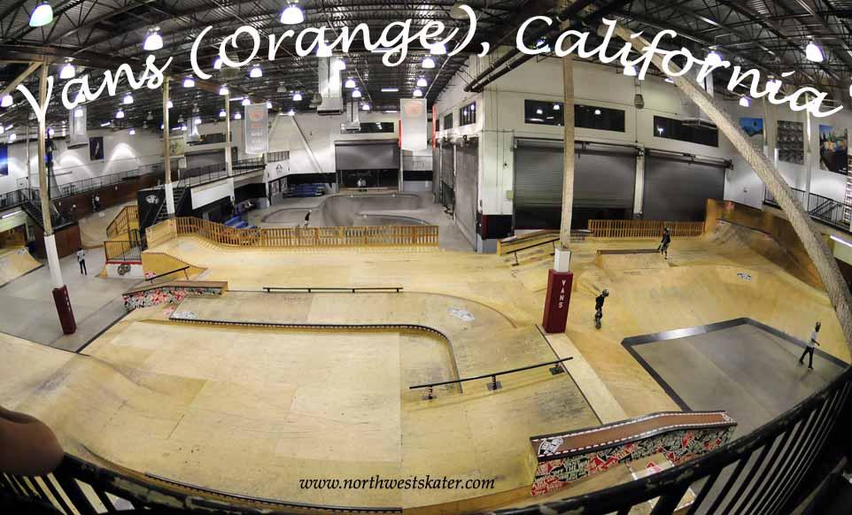 vans skatepark californie